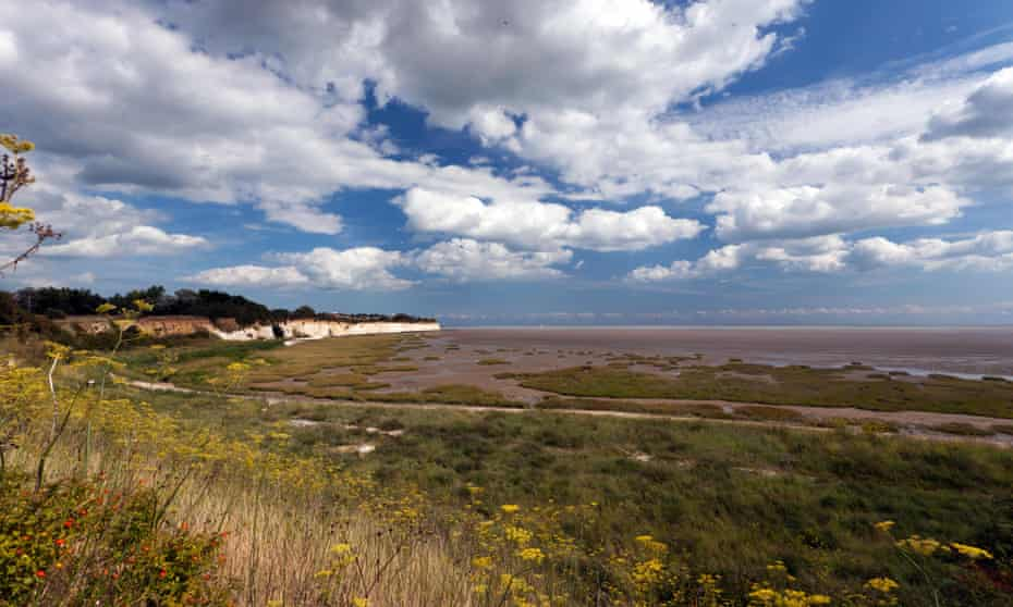 Pegwell Bay nature reserve.