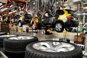 BMW factory in Spartanburg, South Carolina.