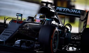 Lewis Hamilton gets used to the feel of the Suzuka track in Japanese Grand Prix practice on Friday.