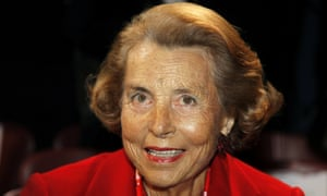 Liliane Bettencourt в 2011 году.