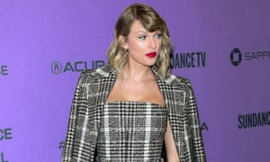 Taylor Swift, who has previously criticised Spotify and Apple over their digital royalty rates.