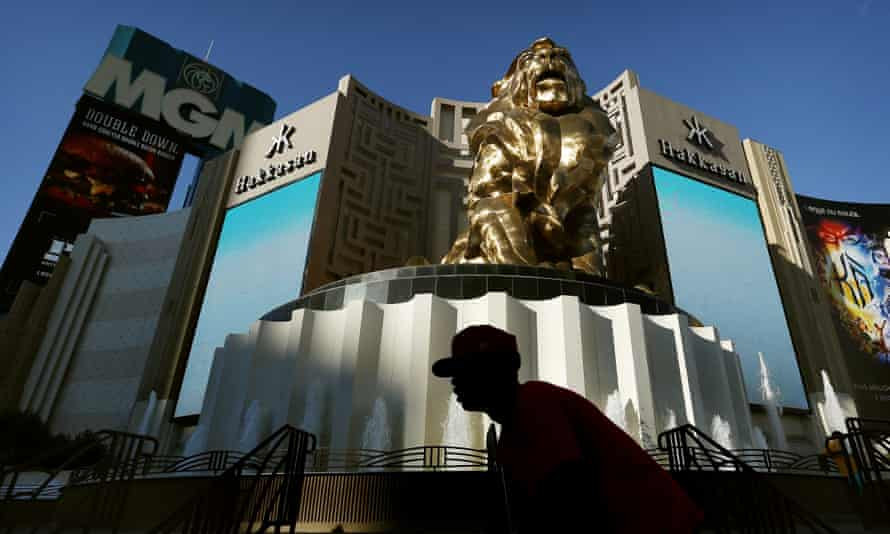 The MGM Grand hotel and casino in Las Vegas. MGM owns and operates several luxury resorts in Vegas.