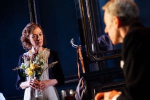 Niamh Cusack and Stephen Boxer in The Remains of the Day.