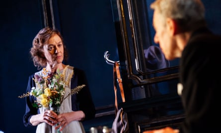 Niamh Cusack as Miss Kenton and Stephen Boxer as Stevens in The Remains of the Day, Royal & Derngate, Northampton.