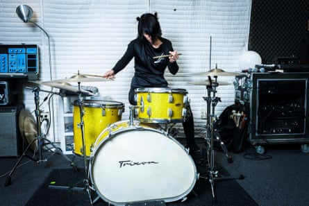 Carla Azar photographed in her studio, California.