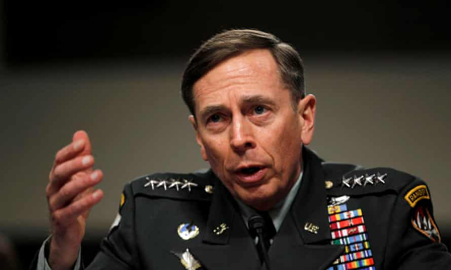 Gen David Petraeus, the former US commander in Iraq