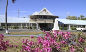 Government offices on Nauru