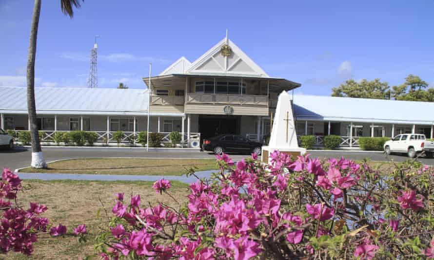 Government offices on Nauru