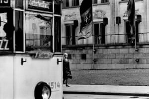 Near the Central Station, Leipzig, Germany, 1964