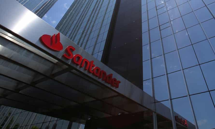Santander bank building