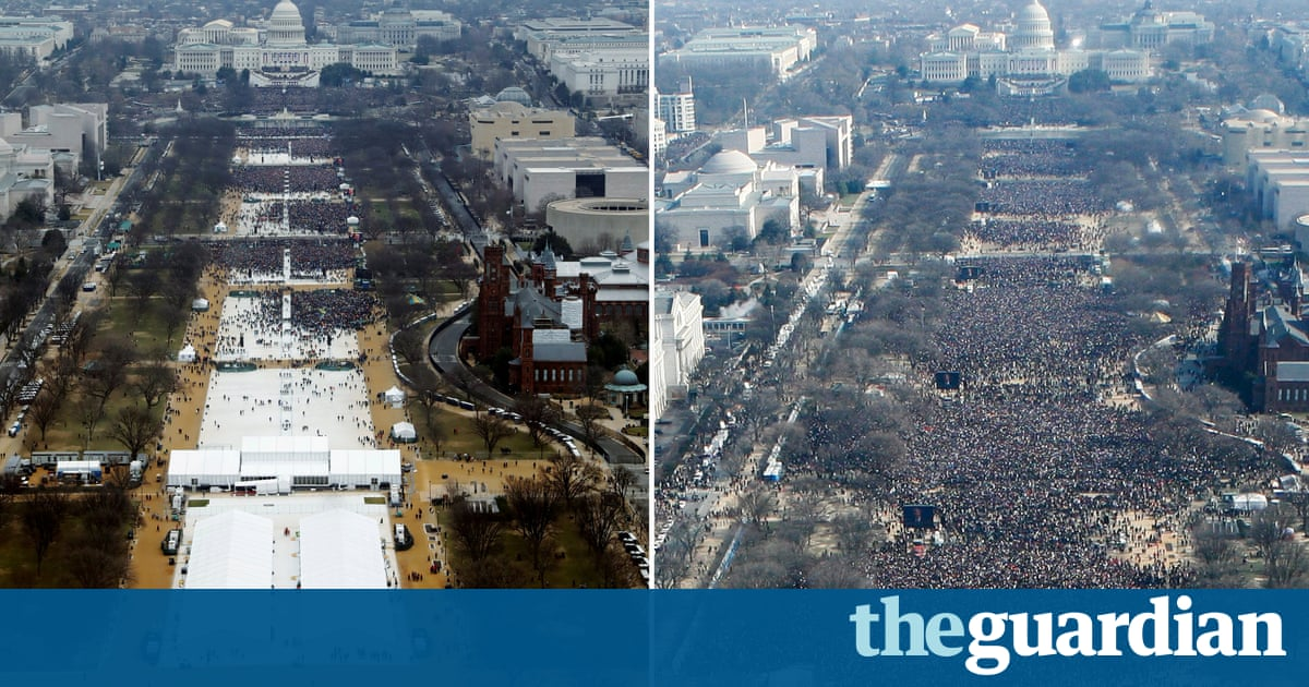 Trump inauguration crowd: Sean Spicer's claims versus the evidence