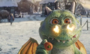 John Lewis and Waitrose have turned to Edgar, an excitable dragon, to bolster Christmas sales.
