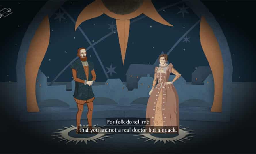 Shakespearean comedy … Astrologaster.