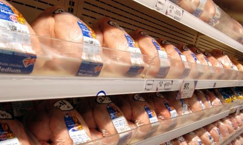Three Quarters Of Supermarket Chickens Carry Food Poisoning Bug