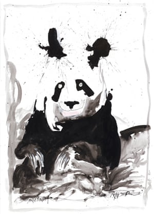 Giant Panda by Ralph Steadman