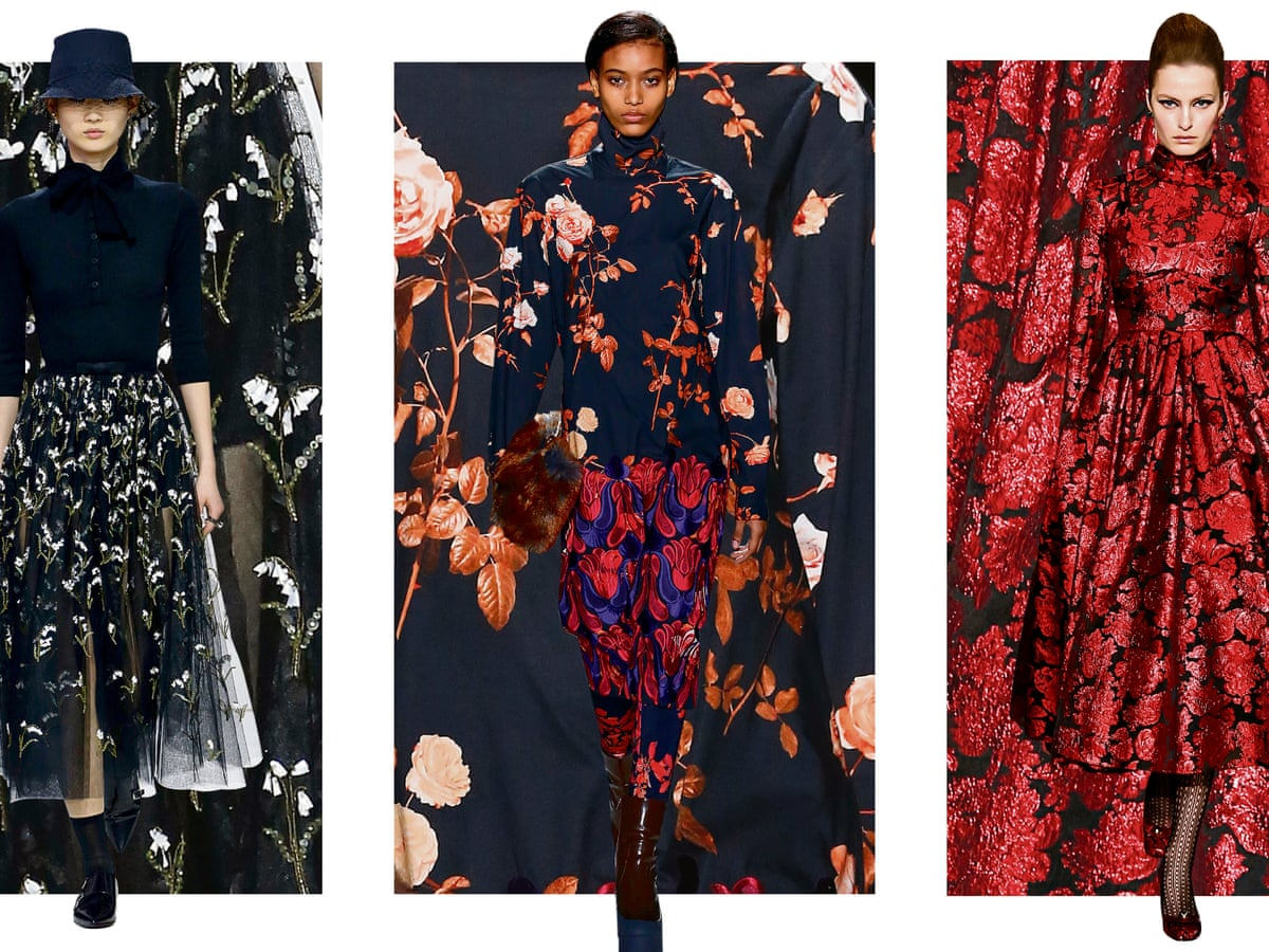 Moody blooms: how dark florals became the new Breton stripe