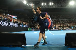 In his post-match interview, Murray dangles the possibility that he may return if his hip surgery is successful, but there's every chance this is his farewell to the Australian Open fans