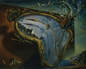 Soft Watch at the Moment of First Explosion, by Salvador Dalí
