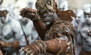 Djimon Hounsou as Chief Mbonga in The Legend of Tarzan