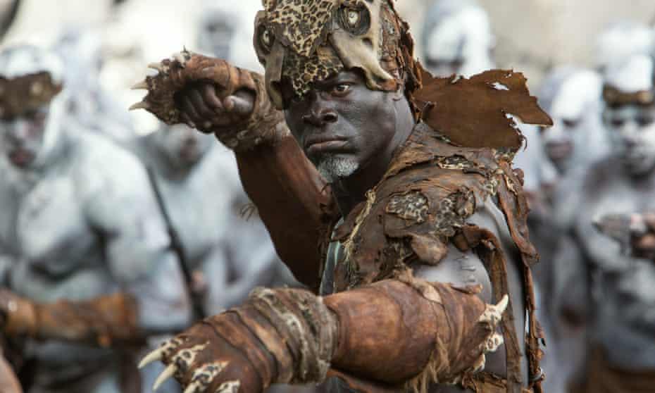 Djimon Hounsou as Chief Mbonga in The Legend of Tarzan.