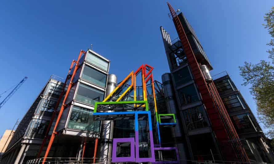 Channel 4 headquarters in London.