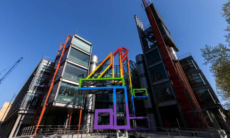 Channel 4 headquarters in London. The station has revenues of almost £1bn a year.