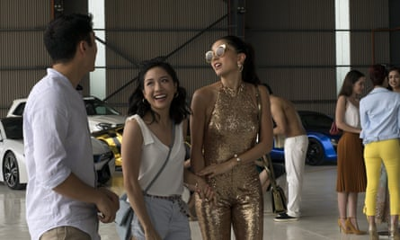 'I guess it was locked in there somewhere'… Crazy Rich Asians