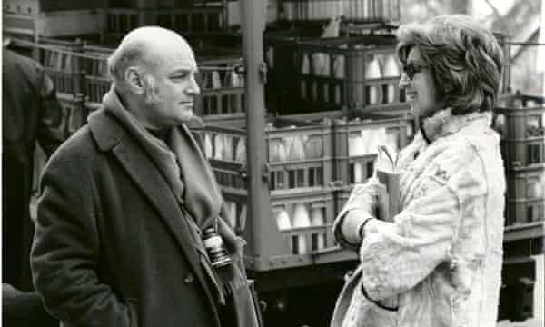 Edna with the film director John Schlesinger.