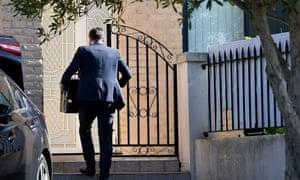 Federal officers enter Shaoquett Moselmane's Sydney home