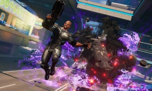 Terry Crews as lead agent in Microsoft's Crackdown 3.