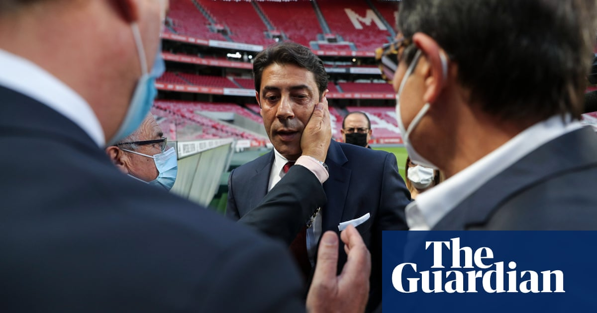 Benfica president's arrest leaves Rui Costa to pick up the pieces