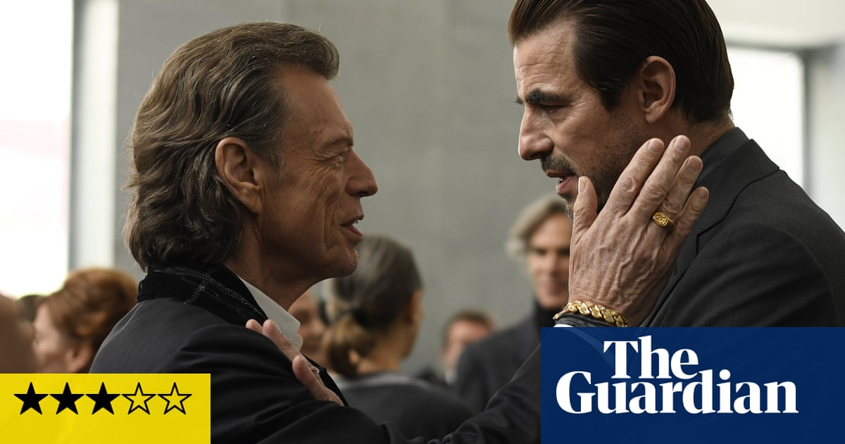 The Burnt Orange Heresy review – Mick Jagger adds dash of malice to arty thriller