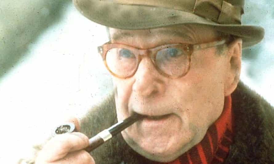 Lock up your daughters ... Georges Simenon in 1993. Photograph: AP