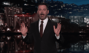 'It's a powerful statement that says 'I have too many socks'' ... Jimmy Kimmel