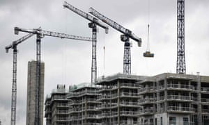 A construction site near London City Airport, 2019