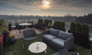 View from rooftop terrace at Kidbrooke Village