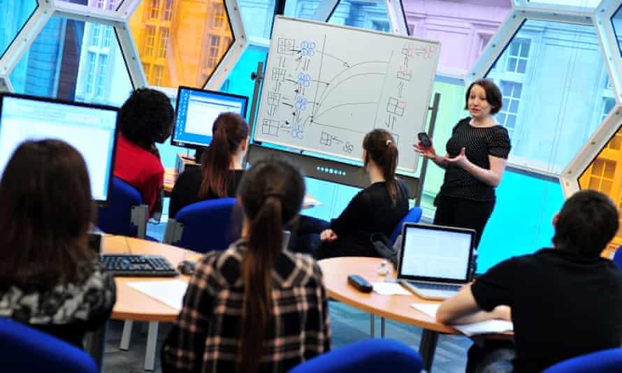Cardiff uni classroom