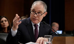 Scott Pruitt has been confirmed as the new administrator of the Environmental Protection Agency, a body he has repeatedly sued during the Obama administration.