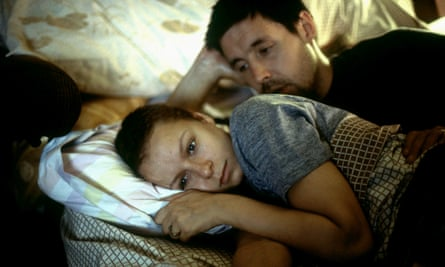 'He reminds me in some ways of the old boys who aren't around any more' … Considine with Samantha Morton in Jim Sheridan's 2002 film In America.