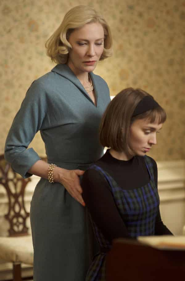 Cate Blanchett and Rooney Mara in Carol (2015).