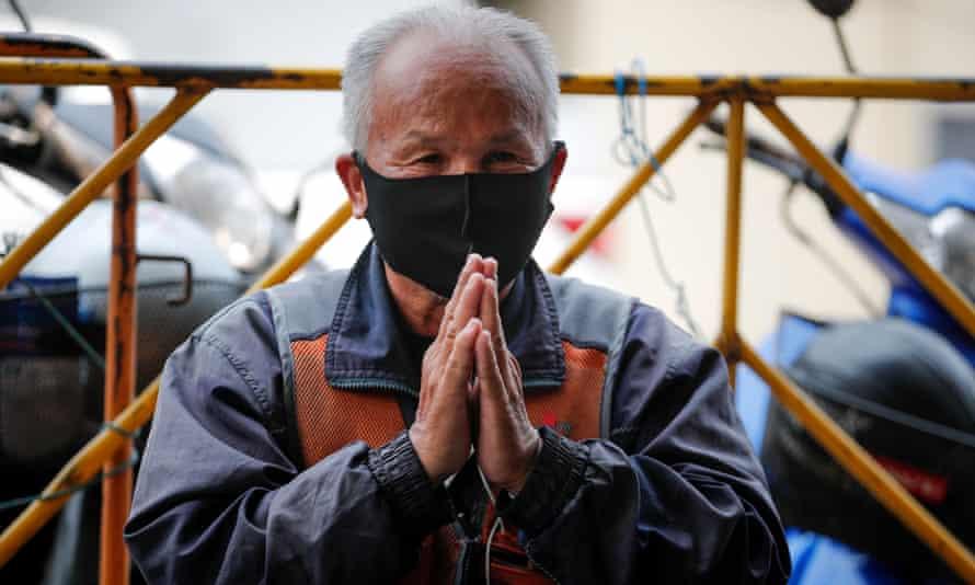 A Thai moto-taxi driver