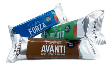 Strong stuff: the three new flavours of Veloforte energy bars