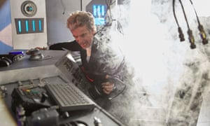 Capaldi's Doctor is as reliably daft as the brush the actor's hair resembles.