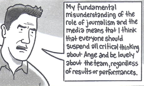 David Squires on ... speculation over Ange Postecoglou's Socceroos reign