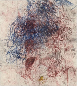 Untitled (Drawings off the wall), the painting that sold for $401,000 rather than an estimated $30,000 at a New York auction in 2011