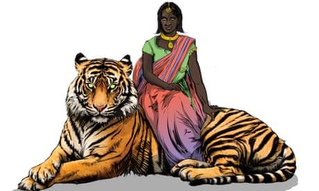 India's comic-book superheroine trains her powers on acid attacks
