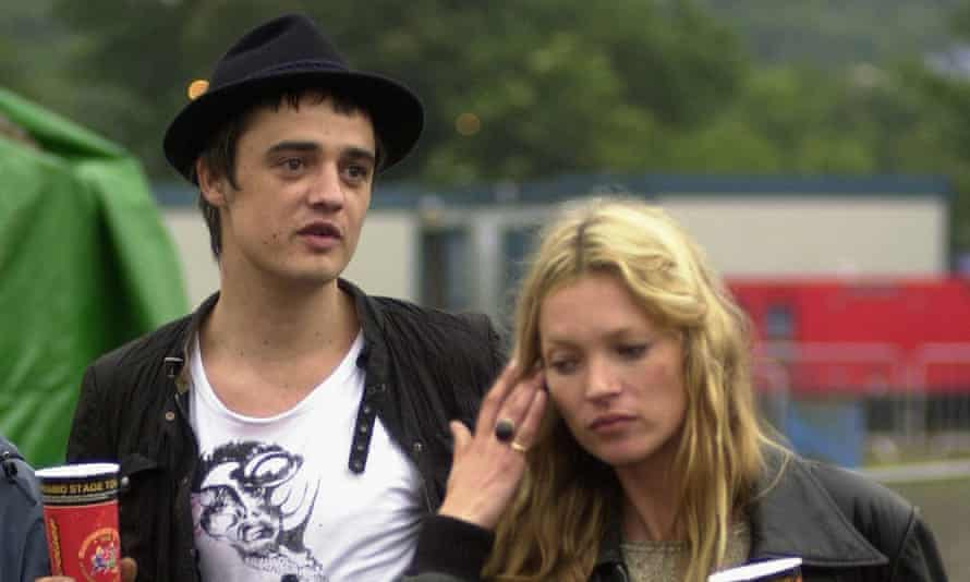 Kate Moss and Pete Doherty