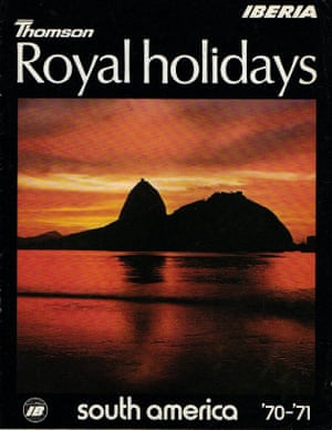 1970 Thomson royal holidays South America brochure