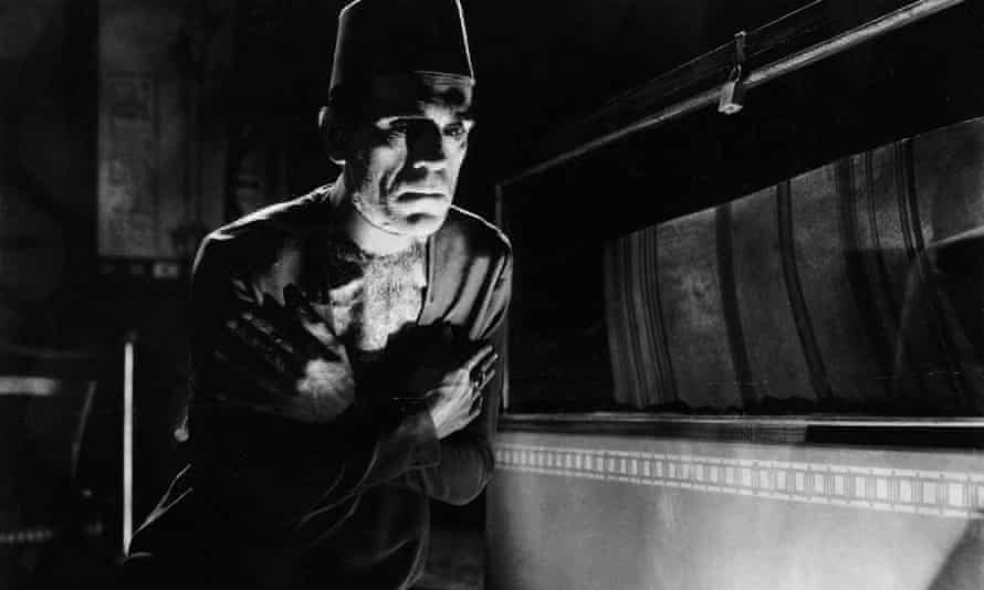 Boris Karloff in The Mummy.