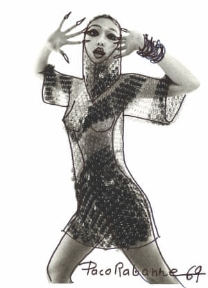 Jean Clemmer Paco Rabanne, Nues, 1969